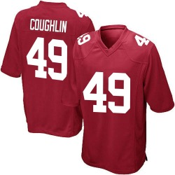 Game Carter Coughlin Youth New York Giants Red Alternate Jersey - Nike