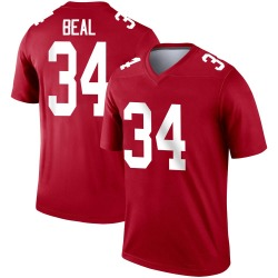 Legend Sam Beal Youth New York Giants Red Inverted Jersey - Nike