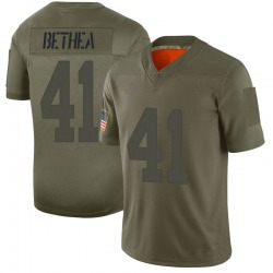 Limited Antoine Bethea Youth New York Giants Camo 2019 Salute to Service Jersey - Nike