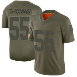 Limited J.T. Thomas Men's New York Giants Camo 2019 Salute to Service Jersey - Nike