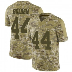 Limited Markus Golden Youth New York Giants Camo 2018 Salute to Service Jersey - Nike